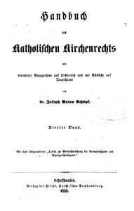 Handbuch des katholischen Kirchenrechts mit besonderer Bezugnahme auf Oesterreich und mit R  cksicht auf Deutschland PDF