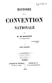 Histoire de la Convention Nationale: Volume 3