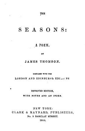 The Seasons PDF