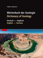 W  rterbuch der Geologie   Dictionary of Geology PDF