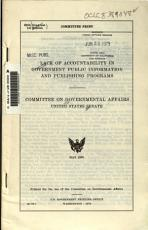 Lack of Accountability in Government Public Information and Publishing Programs PDF