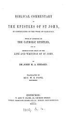 Biblical Commentary on the Epistles of St. John