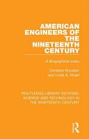 American Engineers of the Nineteenth Century PDF