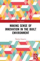 Making Sense of Innovation in the Built Environment PDF