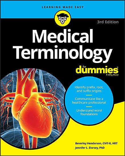 Medical Terminology For Dummies PDF