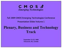 CMOSET Fall 2009 Plenary  Business and Technology Track Presentation Slides PDF