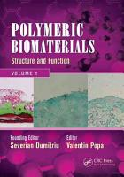Polymeric Biomaterials  Structure and function PDF