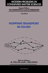 Hopping Transport in Solids