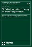 Die Schadensersatzberechnung im Immaterialg  terrecht PDF