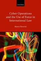 Cyber Operations and the Use of Force in International Law PDF