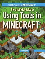 The Unofficial Guide to Using Tools in Minecraft   PDF
