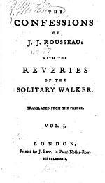 The Confessions of J.J. Rousseau
