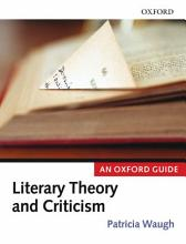 Literary Theory and Criticism PDF