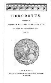 Herodotus: Volume 1