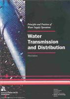 Water Transmission and Distribution PDF