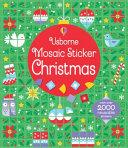 Mosaic Sticker Christmas PDF
