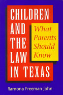 Children and the Law in Texas