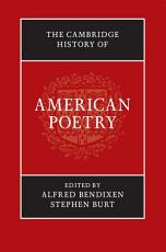 The Cambridge History of American Poetry PDF