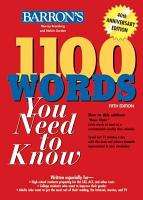 1100 Words You Need to Know 5th Ed PDF