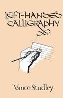 Left handed Calligraphy PDF
