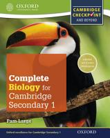 Complete Biology for Cambridge Lower Secondary 1 PDF