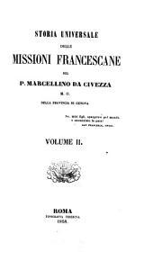 Storia universale delle missioni francescane: Volume 2