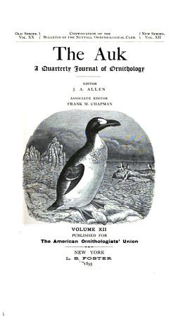 The Auk PDF