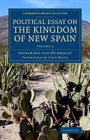 Political Essay on the Kingdom of New Spain PDF