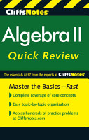 CliffsNotes Algebra II Quick Review  2nd Edition PDF