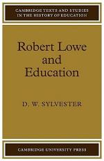 Robert Lowe and Education