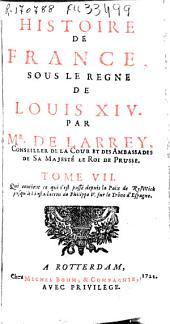 Histoire de France sous le regne de Louïs XIV