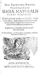 Magiae Naturalis libri XX