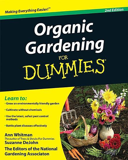 Organic Gardening For Dummies PDF