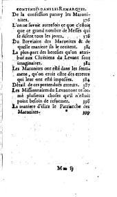 Voyage du mont Liban, traduit de l'Italien ... par R. S. P.