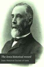 The Iowa Historical Record