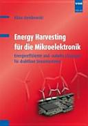 Energy Harvesting f  r die Mikroelektronik PDF