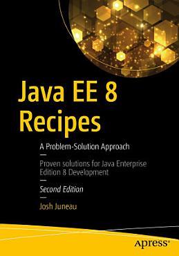 Java EE 8 Recipes PDF