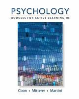 Psychology  Modules for Active Learning PDF