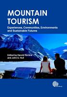 Mountain Tourism PDF