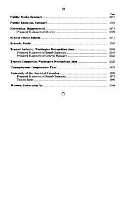 District of Columbia appropriations for 1986 PDF