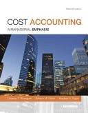 Cost Accounting with MyAccountingLab Code Package PDF