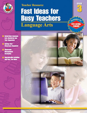 Fast Ideas for Busy Teachers  Language Arts  Grade 3 PDF