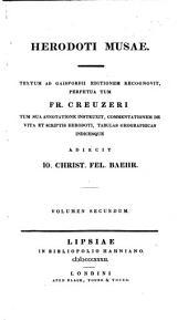 Herodoti Musae: Volume 2