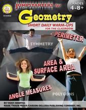 Jumpstarters for Geometry, Grades 4 - 8