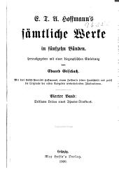 E.T.A. Hoffmann's sämtliche Werke ...