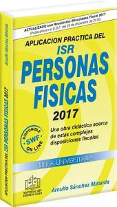 APLICACION PRACTICA DEL ISR PERSONAS FISICAS 2017