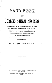 Hand Book of Corliss Steam Engines