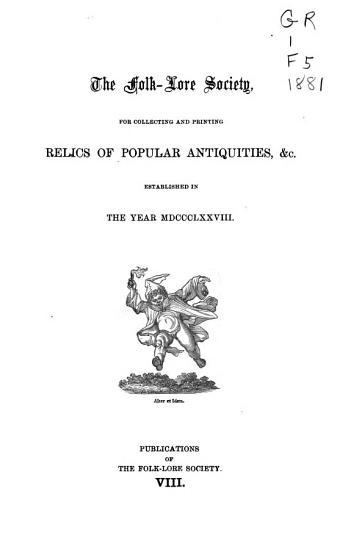 The Folk lore Record PDF
