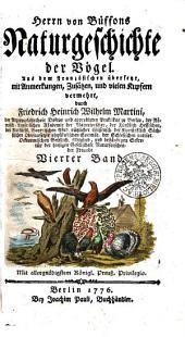 Herrn von Büffons Naturgeschichte der Vögel: Band 4