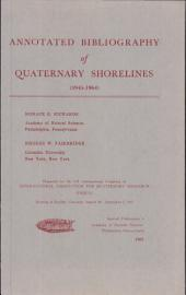 Annotated Bibliography of Quaternary Shorelines: 1945-1964, Volume 1